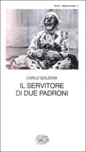 Copertina del libro Il servitore di due padroni di Carlo Goldoni