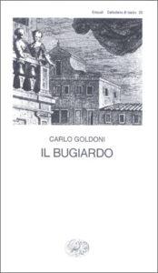 Copertina del libro Il bugiardo di Carlo Goldoni