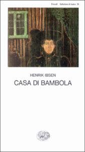 Copertina del libro Casa di bambola di Henrik Ibsen
