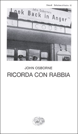 Copertina del libro Ricorda con rabbia di John Osborne