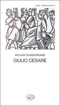Copertina del libro Giulio Cesare di William Shakespeare