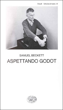 Copertina del libro Aspettando Godot di Samuel Beckett