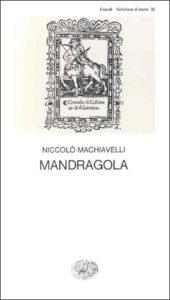 Copertina del libro Mandragola di Niccolò Machiavelli
