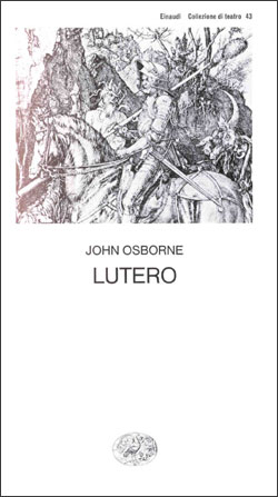 Copertina del libro Lutero di John Osborne