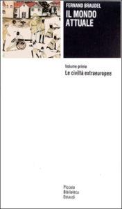 Copertina del libro Il mondo attuale di Fernand Braudel