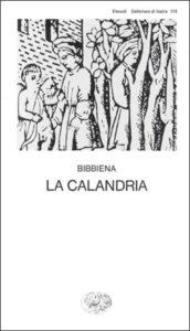 Copertina del libro La Calandria di Bibbiena