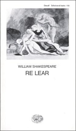 Copertina del libro Re Lear di William Shakespeare