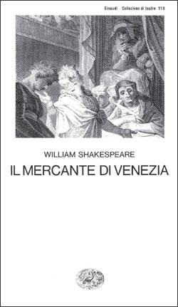 Copertina del libro Il mercante di Venezia di William Shakespeare