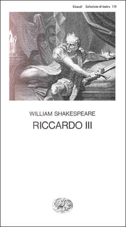Copertina del libro Riccardo III di William Shakespeare