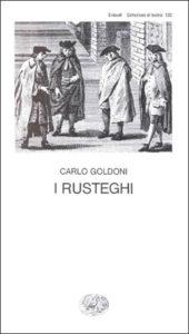 Copertina del libro I rusteghi di Carlo Goldoni
