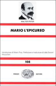 Copertina del libro Mario l'epicureo di Walter Pater