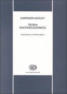 Copertina del libro Teoria macroeconomica di Gardner Ackley