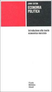 Copertina del libro Economia politica di John Eaton