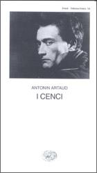 Copertina del libro I Cenci di Antonin Artaud