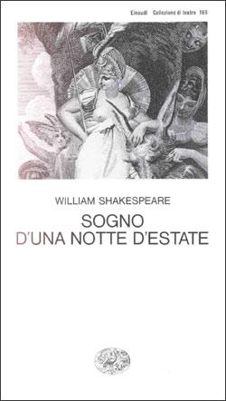 Copertina del libro Sogno d'una notte d'estate di William Shakespeare