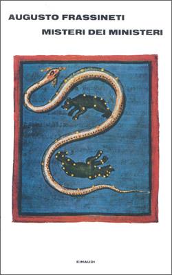 Copertina del libro Misteri dei Ministeri di Augusto Frassineti