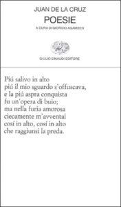 Copertina del libro Poesie di Juan de la Cruz
