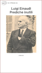 Copertina del libro Prediche inutili di Luigi Einaudi