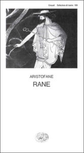 Copertina del libro Rane di Aristofane