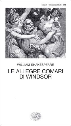 Copertina del libro Le allegre comari di Windsor di William Shakespeare