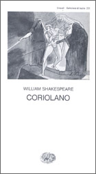 Copertina del libro Coriolano di William Shakespeare