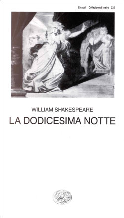 Copertina del libro La dodicesima notte di William Shakespeare