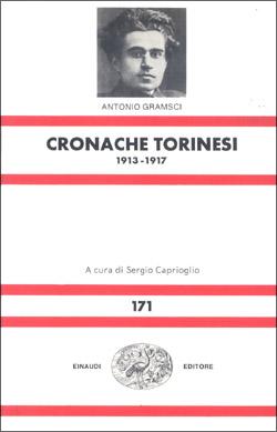 Copertina del libro Cronache torinesi di Antonio Gramsci