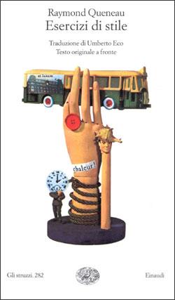 Copertina del libro Esercizi di stile di Raymond Queneau