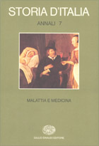 Copertina del libro Storia d'Italia. Annali 7. Malattia e medicina di VV.