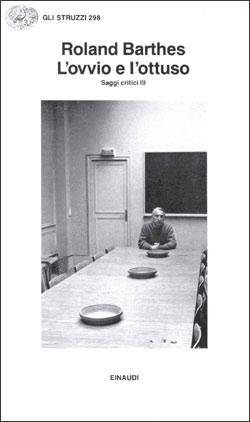 Copertina del libro L'ovvio e l'ottuso di Roland Barthes