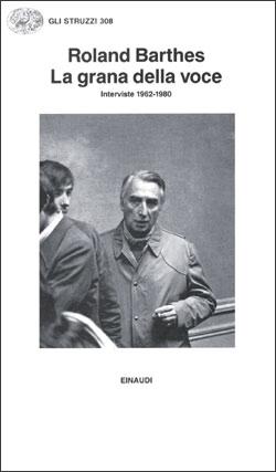 Copertina del libro La grana della voce di Roland Barthes