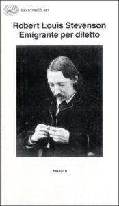 Copertina del libro Emigrante per diletto seguito da Attraverso le pianure di Robert Louis Stevenson