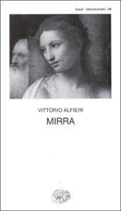 Copertina del libro Mirra di Vittorio Alfieri