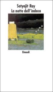 Copertina del libro La notte dell'indaco di Satyajit Ray