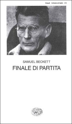 Copertina del libro Finale di partita di Samuel Beckett