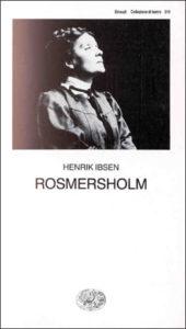 Copertina del libro Rosmersholm di Henrik Ibsen
