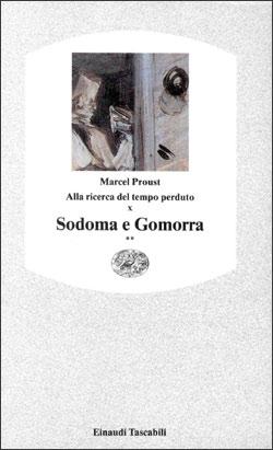 Copertina del libro Alla ricerca del tempo perduto X. Sodoma e Gomorra** di Marcel Proust