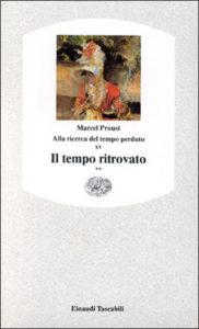 Copertina del libro Alla ricerca del tempo perduto XV. Il tempo ritrovato** di Marcel Proust