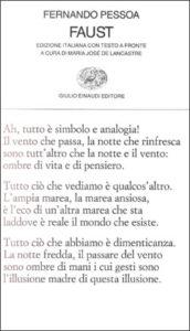 Copertina del libro Faust di Fernando Pessoa