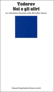 Copertina del libro Noi e gli altri di Tzvetan Todorov