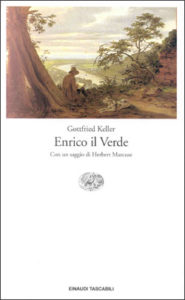 Copertina del libro Enrico il Verde di Gottfried Keller