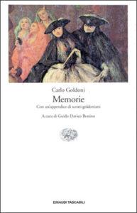 Copertina del libro Memorie di Carlo Goldoni