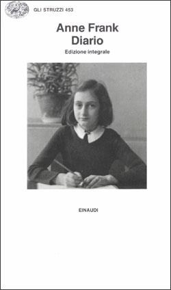 Copertina del libro Diario. L'alloggio segreto, 12 giugno 1942 – I° agosto 1944 di Anne Frank
