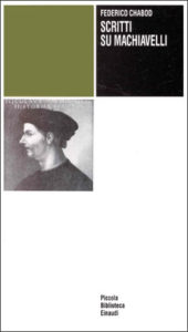 Copertina del libro Scritti su Machiavelli di Federico Chabod