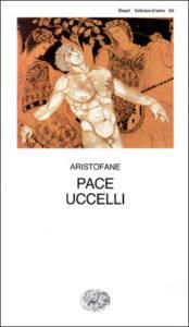 Copertina del libro Pace. Uccelli di Aristofane