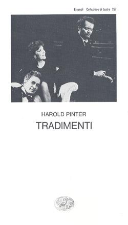 Copertina del libro Tradimenti di Harold Pinter