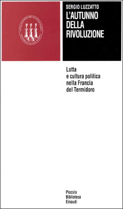 Copertina del libro L'autunno della Rivoluzione di Sergio Luzzatto