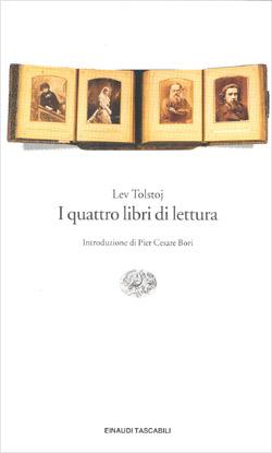 Copertina del libro I quattro libri di lettura di Lev Tolstoj