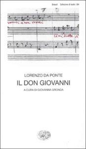 Copertina del libro Don Giovanni di Lorenzo Da Ponte