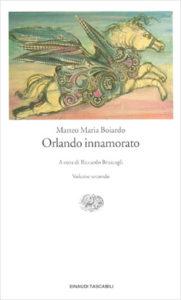 Copertina del libro Orlando innamorato di Matteo Maria Boiardo